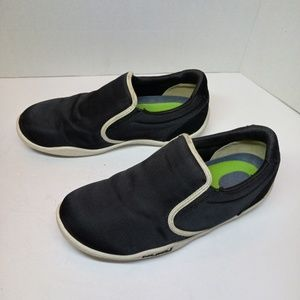 Kuru Black Slip On Casual Tennis shoe US 8